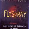 "Poster for the Caffe Cino production of ""Flyspray' by James Howard. This was the first original play done at the Caffe Cino."