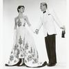 Publicity photo of Audrey Hepburn and William Holden in the motion picture Sabrina.