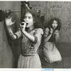 Dorothy Gish and Lillian Gish in the silent short An Unseen Enemy.