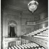 Interior view of Henry Miller's Theatre.