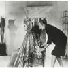Irene Sharaff dressing Elizabeth Taylor for the motion picture Cleopatra