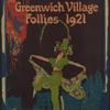 Poster for the stage revue Greenwich Village Follies 1921.