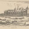 Veuë de Château de Chantilly.