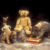 Piglet, Tigger, Kanga, Winnie-the-Pooh, and Eeyore.