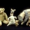 Winnie-the-Pooh, Kanga, Piglet, Eeyore, and Tigger.