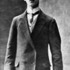 Portrait of Vaslav Nijinsky.