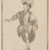 Signor Vestris Senr. in the character of the Prince in the grand pantomime [sic] ballet (call'd) Ninette à la cour