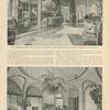 [Mr. Arthur Curtis James' Newport Home.] Top: The drawing room. Bottom: The Della Robbia Room.