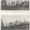 Two views of Battery Park (with bridge and without)