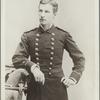 Frank J. Sprague as a cadet officer in the U.S.N.A. battalion