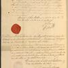 Certificate of U.S. citizenship for William Coit