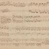 Manuskript mit diversen Klavierubungen von Brahms' sowie
