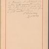 Testimony and signature: Peter Ilich Tchaikovsky, 1840-1893