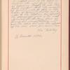 Testimony and signature: Leo Tolstoy, graf, 1828-1910