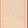 Testimony and signature: Nikolay Rimsky-Korsakov, 1844-1908