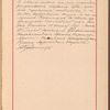 Testimony and signature: Konstantin Vasil'evich Rukavishnikov, 1848-1915