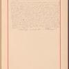Testimony and signature: Iakov Petrovich Polonskii, 1819-1898