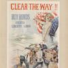 Clear the way!! Buy bonds. Fourth Liberty loan. [Cover.]