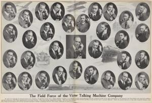 The field force of the Victor Talking Machine Company.