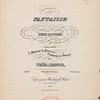 Fantaisie pour le piano, op. 49 F minor