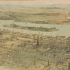Panorama of Manhattan Island. [With details]