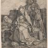 The Holy Family with St. John, the Magdalen, and Nicodemus