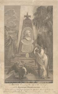 America lamenting her loss at the tomb of Washington / James Aiken and William Harrison, Jr.