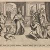Regi addest domini insu propheta Nathanus. Mosntrat adultrÿ, cedis et esse reum.