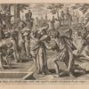 Potum dat Rebecca seruo Abrahæ, eiusque camelis: Unde cognoscitis preparasse hanc Dominum hero suo coniugem.