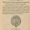 Voyages et descovvertvres faites en la Novvelle France [title page]