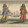 Ann Bonny and Mary Read convicted of Piracy Novr. 28th 1720 in a court of Vice Admiralty held at St. Jago de Vega in ye island of Jamaica.