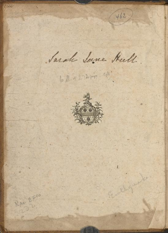 [Coat of arms with signature.]