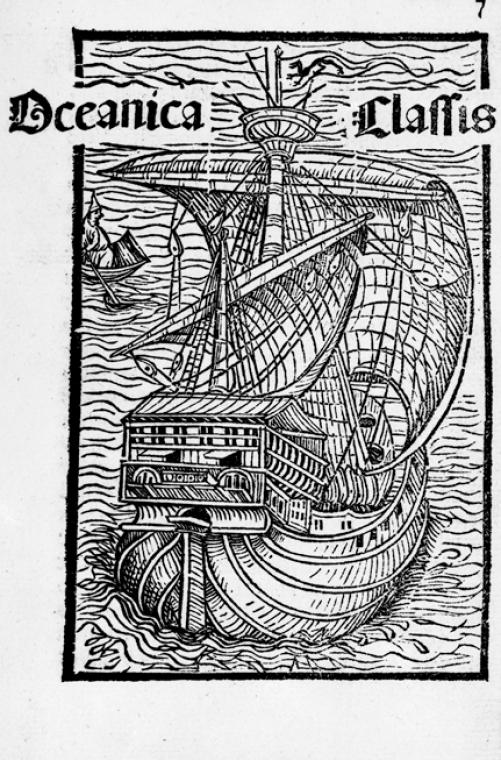 This is What Christopher Columbus and Oceanica Classis Looked Like  in 1493