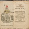 A journal of the shipwreck and sufferings of Daniel Foss, [Frontispiece and title page]