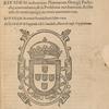 Petri Nonii Salaciensis De Arte Atqve Ratione Navigandi Libri Dvo, title page