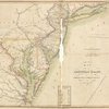 Map of the American Coast, from Lynhaven Bay to Narraganset Bay