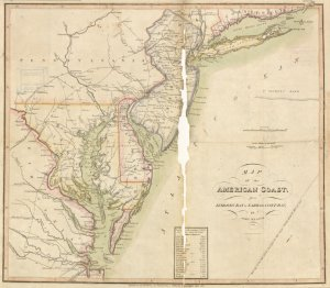 A military and topographical atlas of the United States; including the British possessions & Florida.