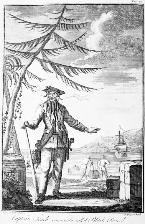 Fascinating Historical Picture of Charles Johnson in 1736