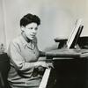 Ellabelle Davis at the piano