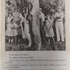 Rubin Stacey, lynched victim, hanging from a tree, surrounded by onlookers, including girls, Fort Lauderdale, Florida.