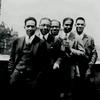 Party of Langston Hughes on roof of 580 St. Nicholas Avenue