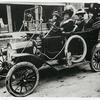Madame C. J. Walker driving a car