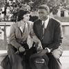 Ruby Dee and Jackie Robinson in a scene from the motion picture The Jackie Robinson Story