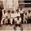 Group portrait of porters, Bahia, Brazil.