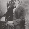 Portrait of Arthur Alfonso Schomburg, bibliophile.