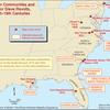 Maroon communities and major slave revolts, 17th-19th centuries.