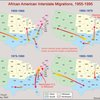 African American interstate migrations, 1955-1995