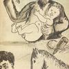 [Illustration by Shterenberg for the story Lyubka Kazak = Lyubka the Cossack]