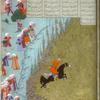 Siyâvush undergoes the fire ordeal.