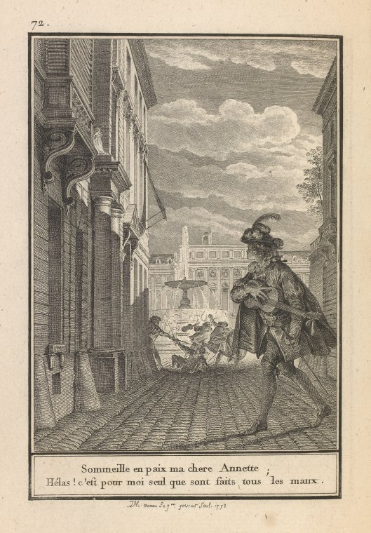 Fascinating Historical Picture of M. de Laborde in 1773